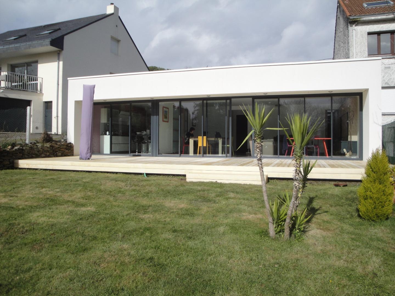Terrasse en Accoya à Nantes